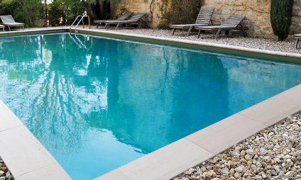margelle silver piscine