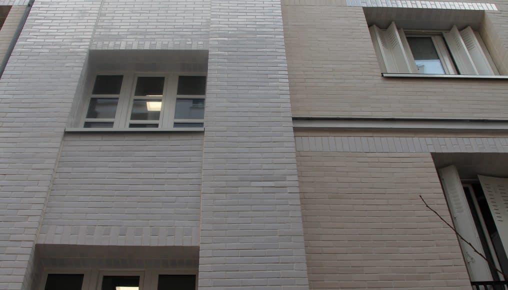 Paris - Rue Pierre Nicole - Lumière and émaillés Architect : J. leroy