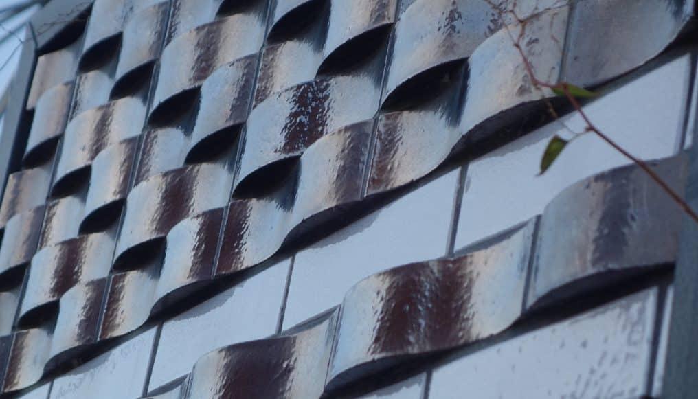 Briques Hirondelles métallisées