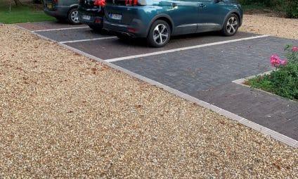pave parking