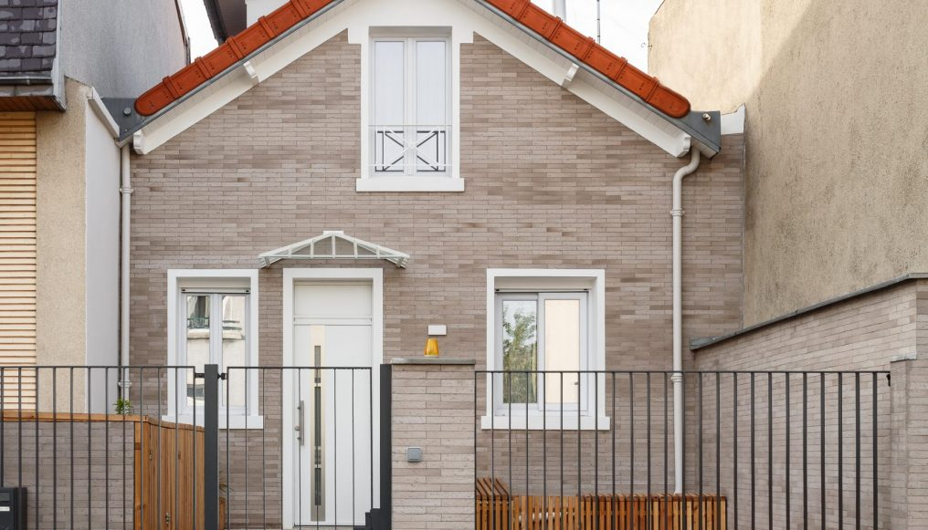 terre cuite naturelle facade maison